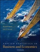 Applied Statistics in Business and Economics with St CDRom 1st edition 9780073215754 0073215759