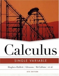 Calculus 4th edition 9780471484820 0471484822