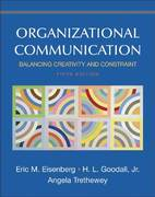 Organizational Communication 5th edition 9780312442392 0312442394