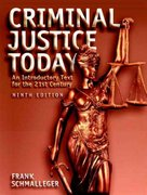 Criminal Justice Today 9th edition 9780131719507 0131719505