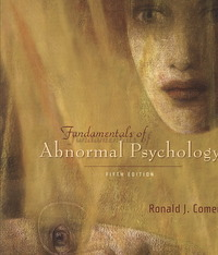 Fundamentals of Abnormal Psychology 5th edition 9780716773764 0716773767