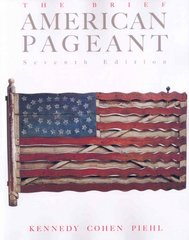 The Brief American Pageant 7th edition 9780618776122 0618776125