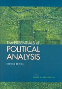 The Essentials of Political Analysis 2nd edition 9781568029979 1568029977