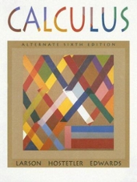 Calculus with Analytic Geometry, Alternate 6th edition 9780395889022 0395889022