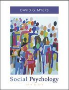 Social Psychology with SocialSense Student CD-ROM 9th edition 9780073310268 0073310263