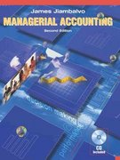Managerial Accounting 2nd edition 9780471228769 0471228761