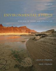 Environmental Ethics 5th edition 9780495095033 0495095036