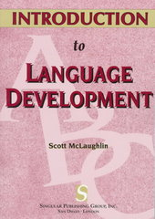 Introduction to Language Development (Textbook Series) 1st Edition 9781565931152 1565931157