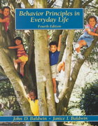 Behavior Principles in Everyday Life 4th edition 9780130873767 0130873764