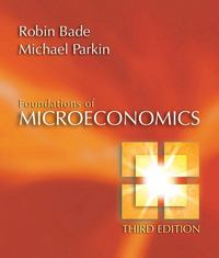 Foundations of Microeconomics 3rd Edition 9780321365033 0321365038