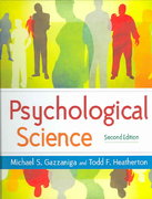 Psychological Science 2nd edition 9780393924978 0393924971