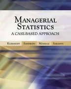 Managerial Statistics 1st edition 9780324226454 0324226454
