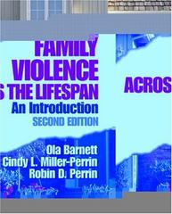 Family Violence Across the Lifespan 2nd edition 9780761927563 0761927565