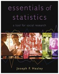 The Essentials of Statistics 1st edition 9780495009757 049500975X