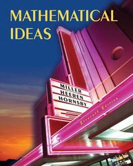 Mathematical Ideas 11th edition 9780321361486 0321361482