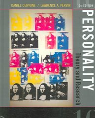 Personality 10th edition 9780471742418 0471742414