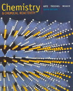 Chemistry and Chemical Reactivity (with General ChemistryNOW CD-ROM) 6th edition 9780534997663 053499766X