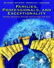Families, Professionals and Exceptionality 5th Edition 9780131197954 0131197959