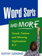 Word Sorts and More 1st Edition 9781593850500 1593850506