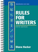 Rules for Writers 5th Edition 9780312406851 0312406851