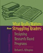 What Really Matters for Struggling Readers 2nd edition 9780205443246 0205443249