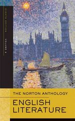 The Norton Anthology of English Literature 8th edition 9780393925326 0393925323