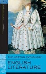 The Norton Anthology of English Literature 8th edition 9780393925319 0393925315