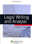 Legal Writing and Analysis 2nd edition 9780735562295 0735562296