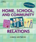 Home, School and Community Relations 6th edition 9781418029746 1418029742