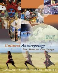 Cultural Anthropology 11th edition 9780534624873 0534624871