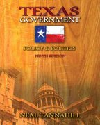 Texas Government 9th Edition 9780321414663 0321414667