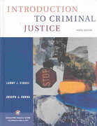 Introduction to Criminal Justice (with CD-ROM and InfoTrac) 10th edition 9780534629465 0534629466