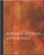 Research Methods In Psychology 7th edition 9780072986228 0072986220