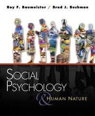 Social Psychology and Human Nature, Brief Version 1st edition 9780495116332 0495116335