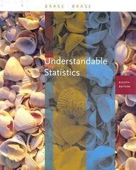 Understandable Statistics 8th edition 9780618496587 0618496580