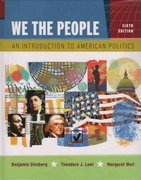 We the People 6th edition 9780393928525 0393928527
