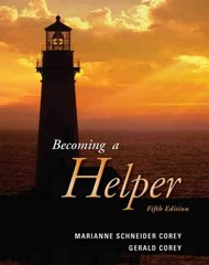 Becoming a Helper 5th edition 9780534614522 0534614523