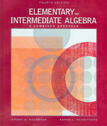 Elementary and Intermediate Algebra 4th edition 9780534490249 0534490247