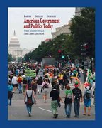American Government and Politics Today 13th edition 9780495098065 049509806X