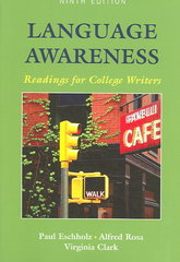 Language Awareness 9th edition 9780312407025 0312407025