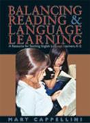 Balancing Reading and Language Learning 1st Edition 9781571103673 1571103678