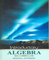 Introductory Algebra 10th edition 9780321269478 0321269470