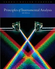 Principles of Instrumental Analysis 6th edition 9780495012016 0495012017