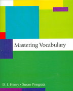 Mastering Vocabulary 1st Edition 9780321410726 0321410726