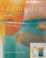 Chemistry 4th edition 9780030331886 0030331889