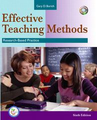 Effective Teaching Methods 6th edition 9780131714960 0131714961
