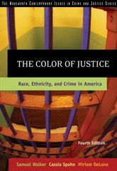 The Color of Justice 4th edition 9780534624460 0534624464