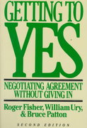Getting to Yes 2nd edition 9780395631249 0395631246
