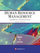 Advantage Books: Human Resource Management 4th edition 9780324361780 0324361785