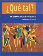 &#191.Que tal?:  An Introductory Course   Student Edition with Bind-in OLC passcode card 7th edition 9780073209425 0073209422